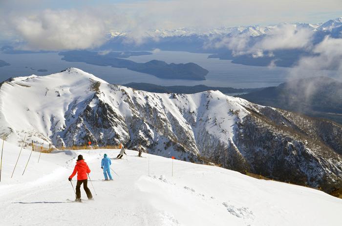 Bariloche é principal destino de neve da Argentina