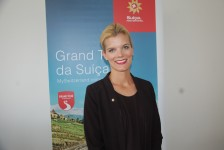 Suíça apresenta oficialmente Christina Gläeser como nova representante de turismo