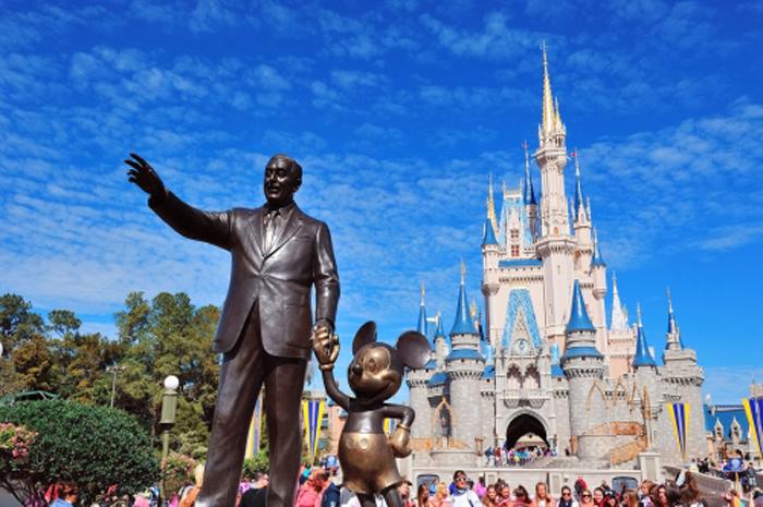 Com uma grande oferta de parques temáticos, Orlando é a líder do ranking