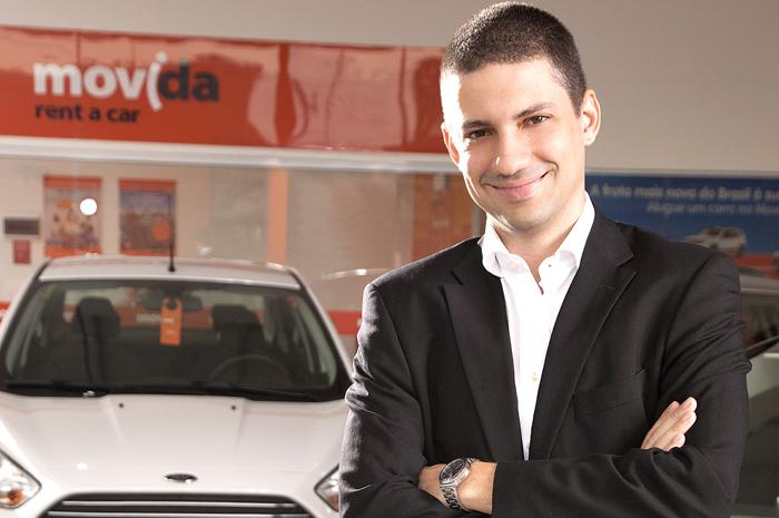 Renato Franklin, CEO da Movida