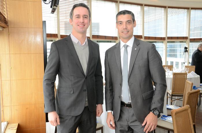 Vinicius Freitas, da Costa; e Umberto Nocelli, da Flytour Viagens