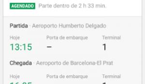 Tap disponibiliza cartão de embarque pelo Google Now