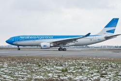 Aerolíneas escala Airbus A330 para a rota Rio-Buenos Aires em fevereiro