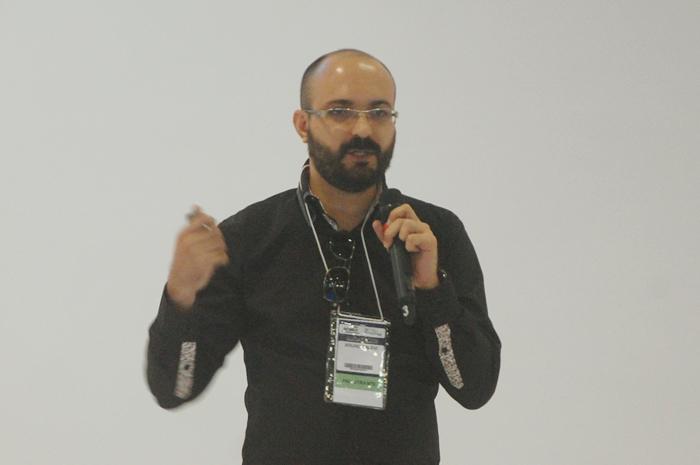 """Bruno Tavoli, da JooceBox, realizou a palestra """"Startups como plataformas criativas para o turismo"""" nesta quinta-feira (29)"""