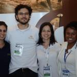Carol Abud, Fabio Mazini, Fernanda Reinato e Paula Souza, do Palladium Hotel