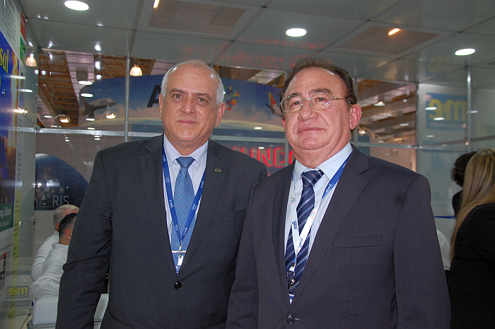 Dilson Jatahy Fonseca Junior e Manoel Cardoso Linhares, respectivamente presidente e vice-presidente da ABIH Nacional