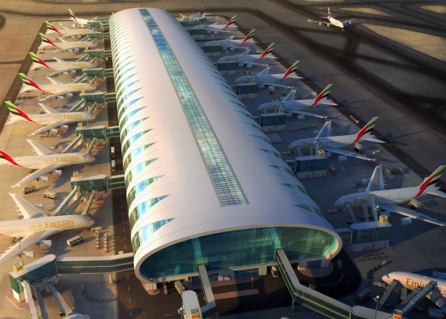 Emirates'-new-A380-hub-Concourse-A