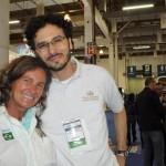 Fabio Mazini, do Palladium e Mari Masgrau, do M&E