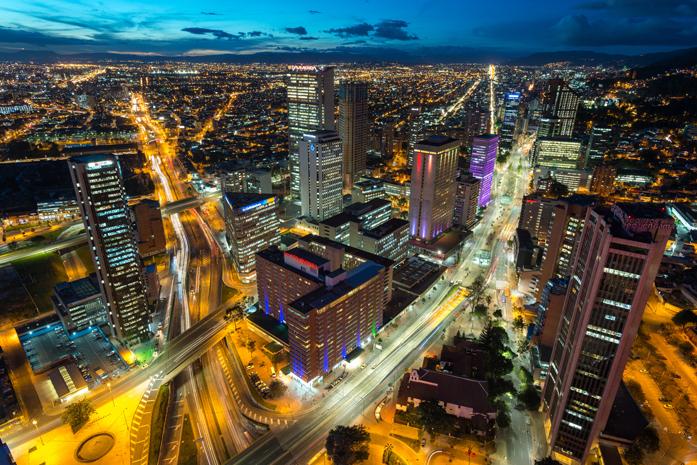 Bogotá é a porta de entrada para os turistas na Colômbia