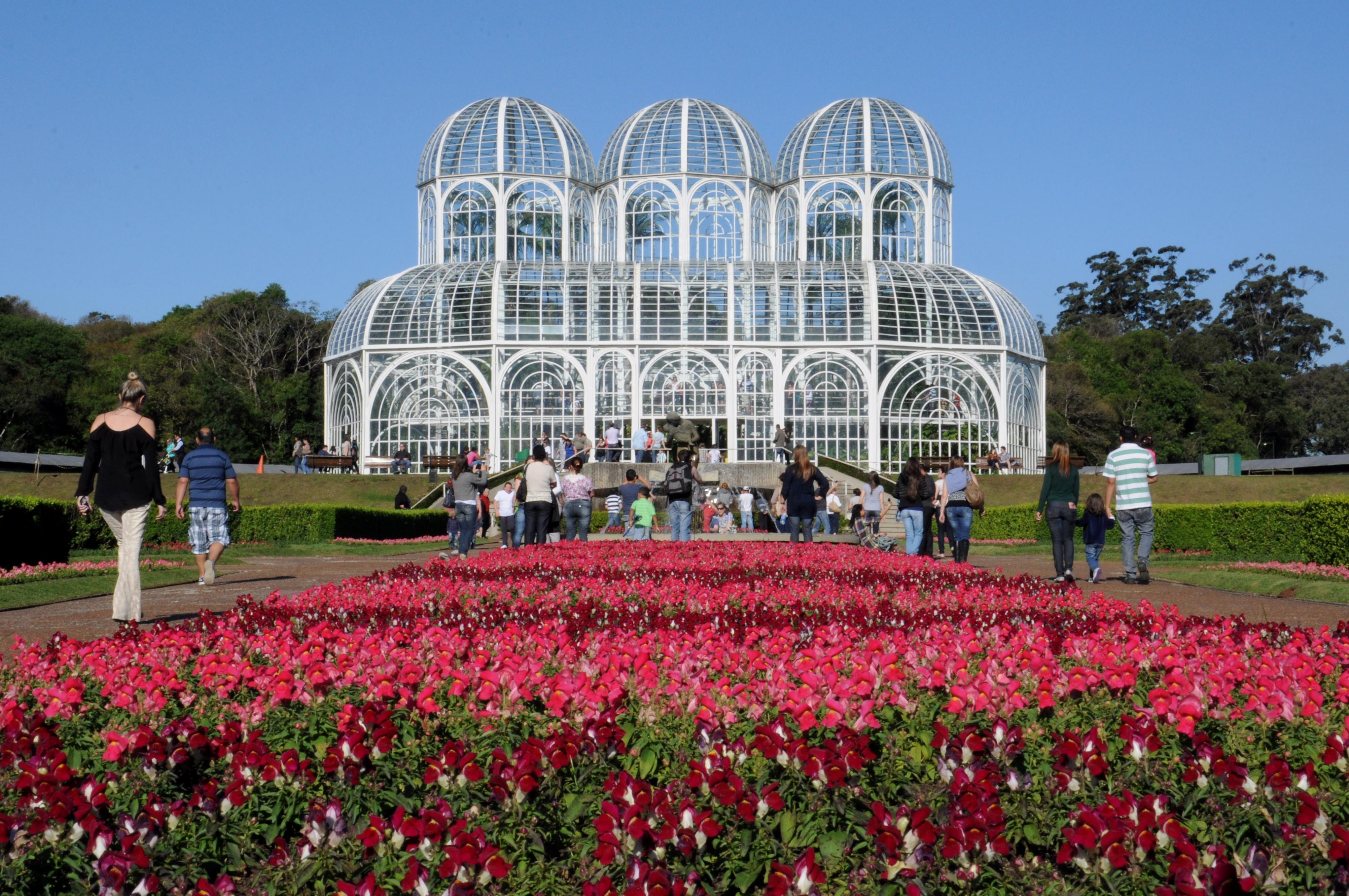 Jardim Botânico é um dos mais conhecidos cartões postais de Curitiba