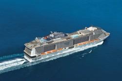 Conheça o Meraviglia, maior e mais inovador navio da MSC