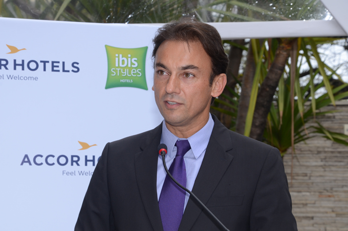 Patrick Mendes, CEO da AccorHotels América do Sul