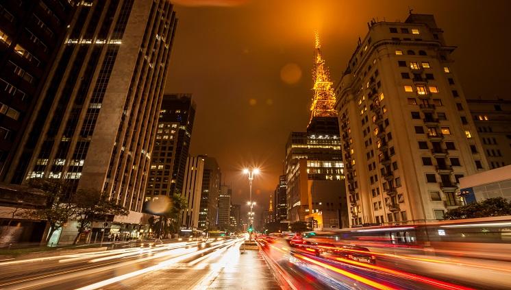 São Paulo é o destino mais procurado pelos usuários de celulares (Foto: Banco de imagens/Embratur)