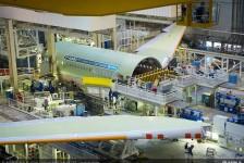 Primeiro A330neo entra na linha de montagem final; veja