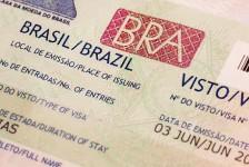Brasil já emitiu mais de 100 mil vistos eletrônicos; pedidos crescem 42%