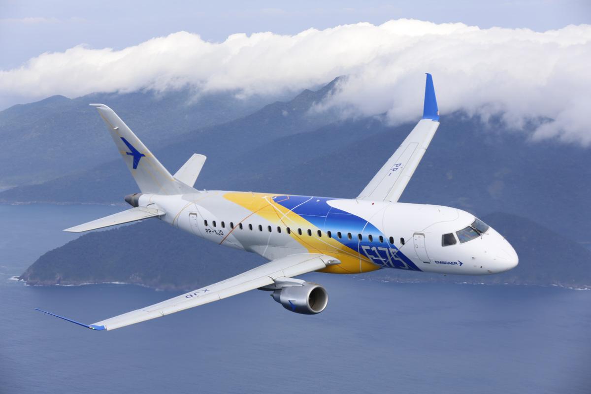 Embraer disse que vendeu mais de 435 jatos do modelo E175 para companhias aéreas na América do Norte desde janeiro de 2013, obtendo mais de 80% do total de pedidos no segmento de jatos de até 76 assentos.