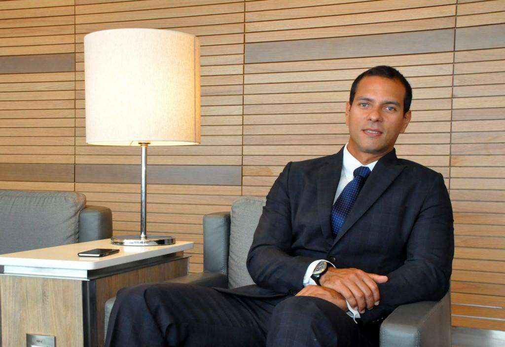 Alexandre Cavalcanti, gerente de Vendas para o RJ e Nordeste
