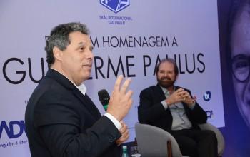 Veja mais fotos da homenagem do Skal-SP a Guilherme Paulus