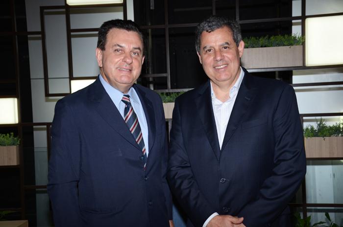 Valter Patriani e Luiz Falco, presidente e vice-presidente da CVC