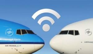 Air France-KLM disponibiliza WIFI a bordo