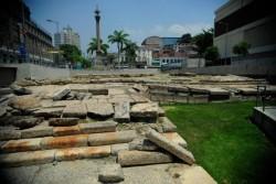 Cais do Valongo, na região portuária do Rio de Janeiro - Agência Brasil/Tomaz Silva