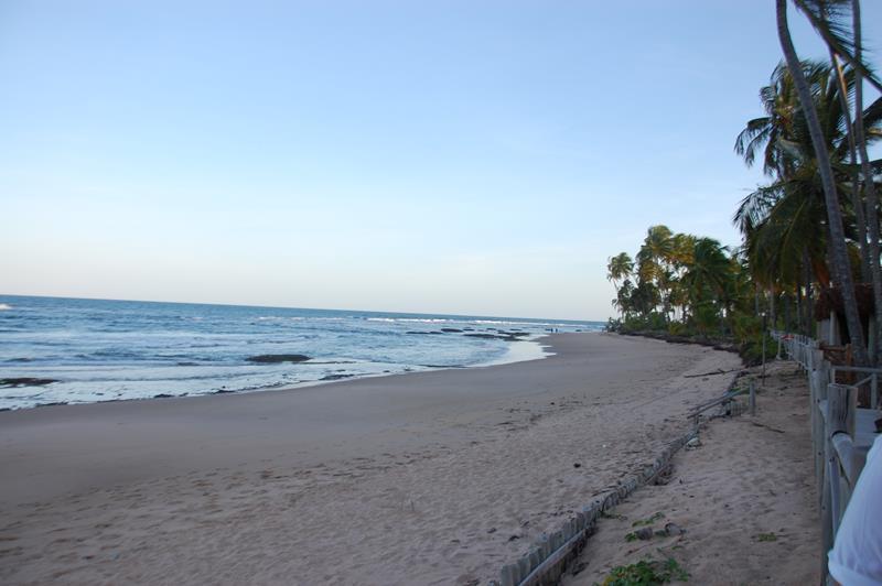 Hotel conta com praia privativa