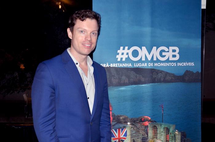 Malcom Griffths, diretor do Visit Britain para o Brasil