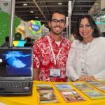 Victor Lessa e Maria Cristina Mendonça, da Bahiatursa