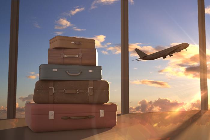 aviões e viagem
