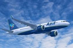 Azul inicia operação do A320neo entre São Paulo e Recife