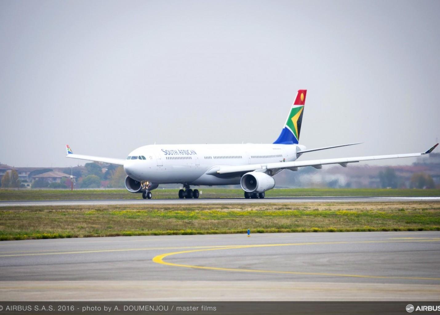 South African Airways escala novo A330-300 para operar em Guarulhos