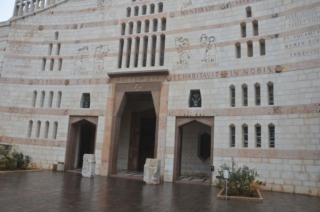 Entrada da Basílica da Anunciação