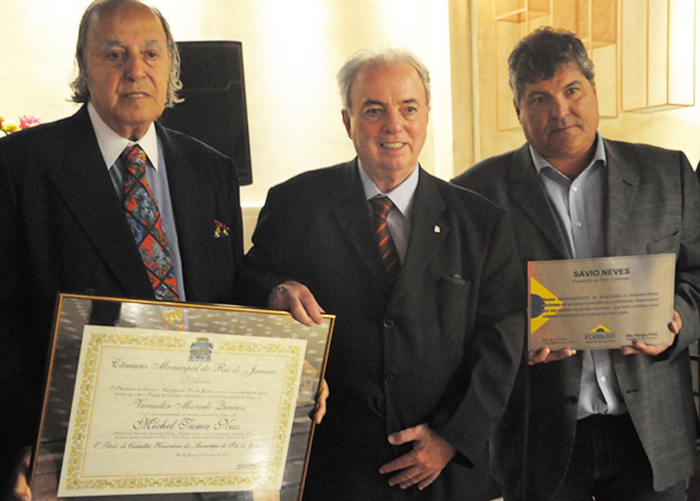 Fornatur homenageia Sávio Neves e Michel Tuma Ness; veja fotos