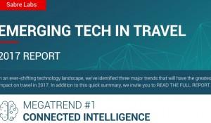 Relatório Sabre aponta tendências para indústria de viagens em 2017