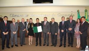 Marta Rossi homenageada em Gramado com título de cidadã emérita