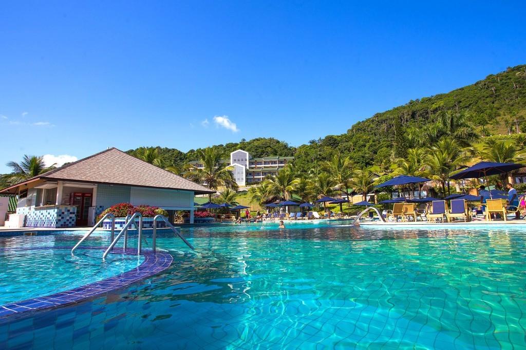 Resort é o único na cidade de Balneário Camboriú (SC) (Foto: Divulgação)