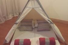Golden Tulip: Crianças podem dormir em barracas ao invés de camas