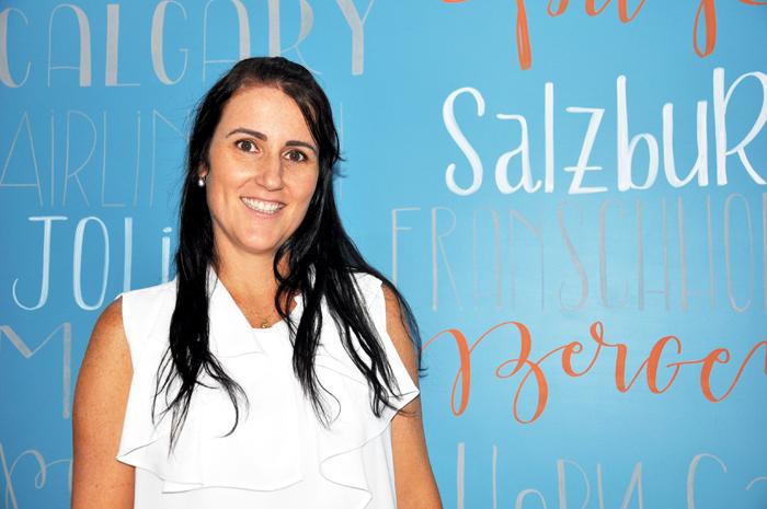 Gisele Abrahão, diretora da GVA