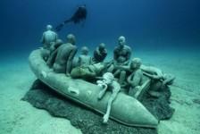 Museu submerso é inaugurado nas Ilhas Canárias