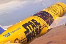 All Nippon Airways estreia nova pintura do Star Wars em B777-200; confira