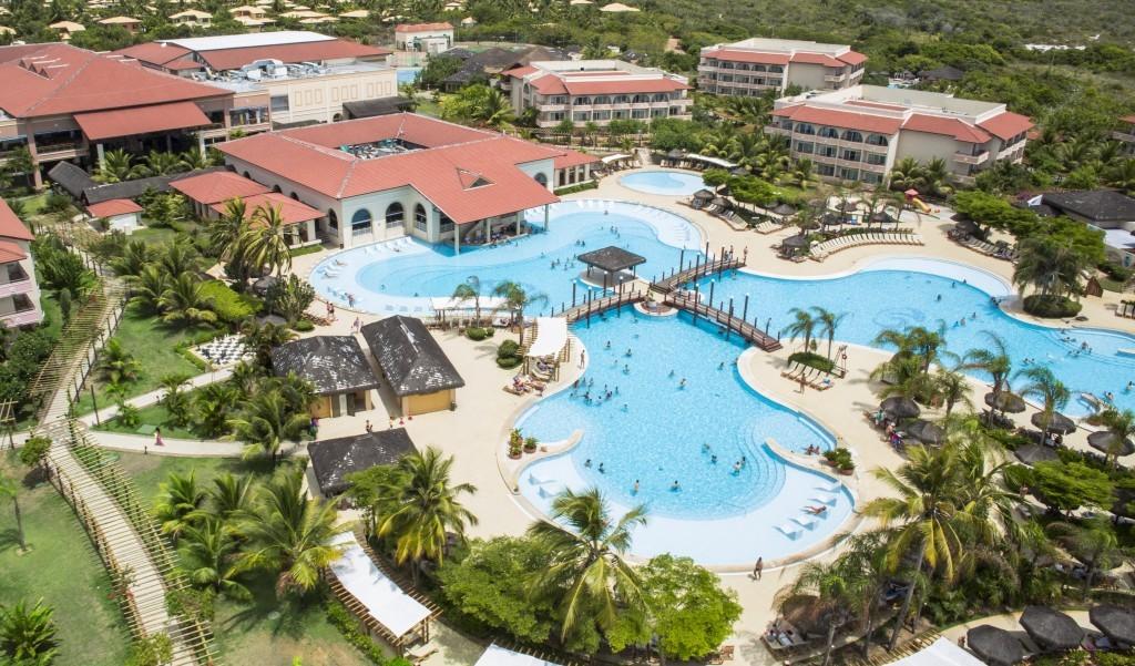 Vista aérea do Resort Grand Palladium Imbassaí (Foto: Divulgação)