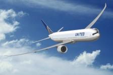 United prepara voo inicial do 1° B777-300ER de sua frota
