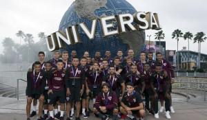 SPFC: Campeão da Florida Cup comemora na Universal Orlando Resort