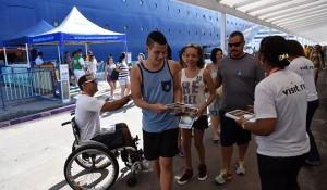 Riotur volta a recepcionar turistas no Porto do Rio