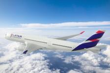 Latam transfere quatro A350s para Qatar Airways sob contrato de leasing