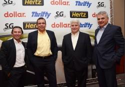 Confira as fotos do encontro da Hertz