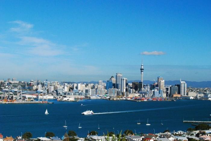 Auckland é a maior cidade da Nova Zelândia (Foto: Divulgação)