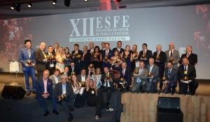 Veja as fotos dos premiados pelo Esfe