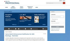 Site exclusivo da Delta para agentes de viagens chega à América Latina