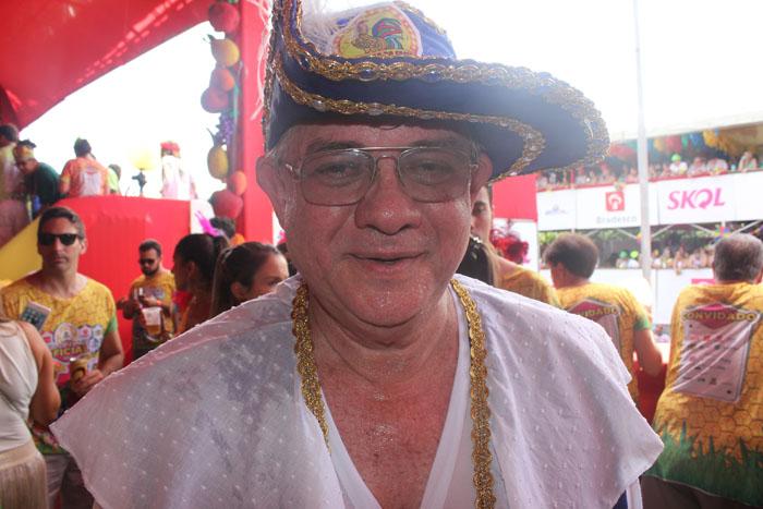 Rômulo Menezes, presidente do Galo da Madrugada